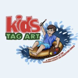 Kids Tag Art Logo